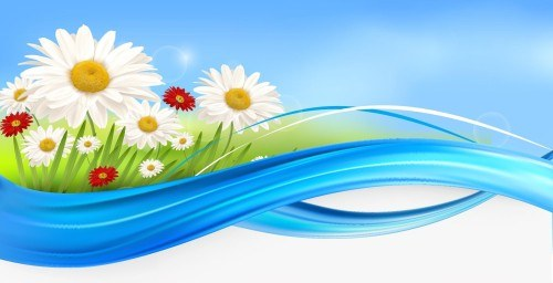Flower Background 04 png