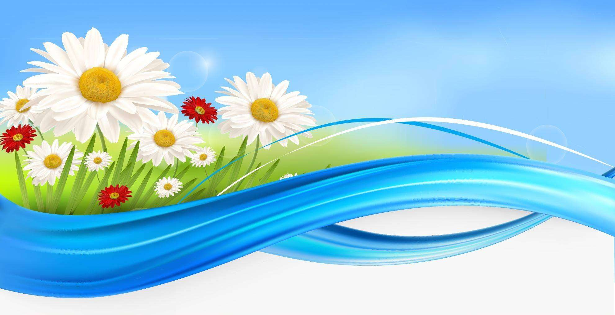 Flower Background 04 Vector EPS Free Download, Logo, Icons, Clipart for Vector Flower Background Png  186ref
