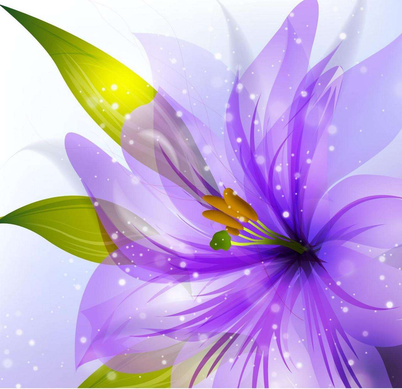 Flower Background 07 png