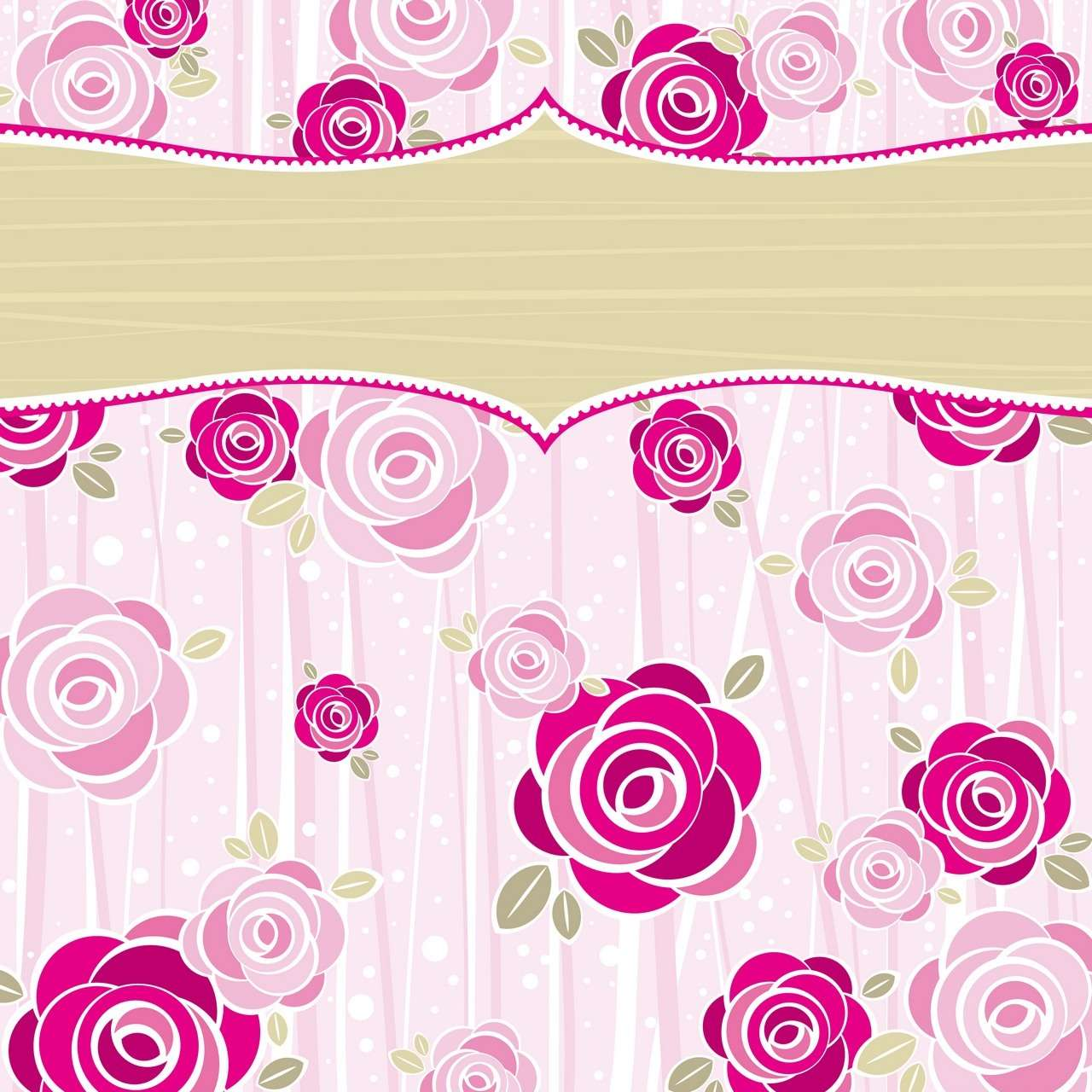 Flower Background, Frame 10 png