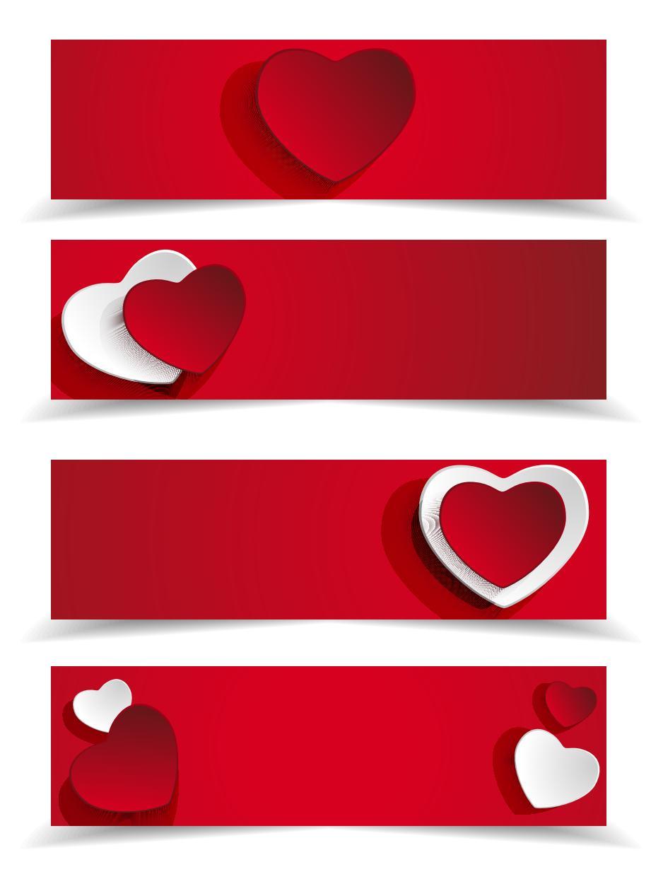 Heart Banner png