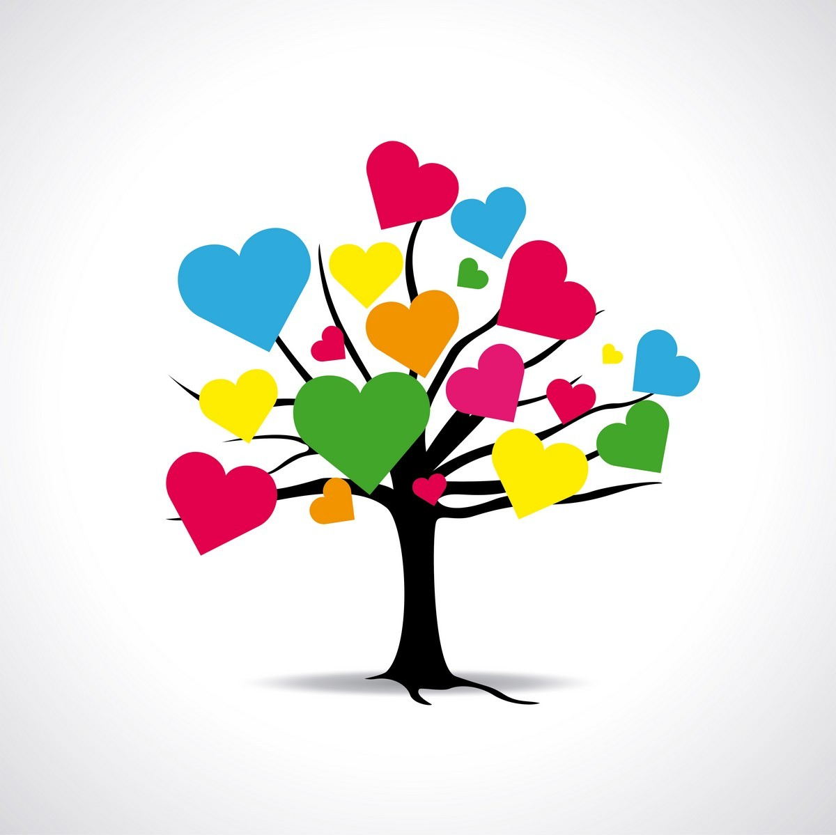 Heart Tree 01 png