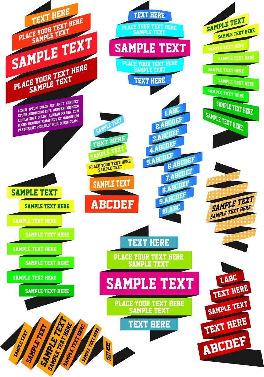 Ribbon Text png
