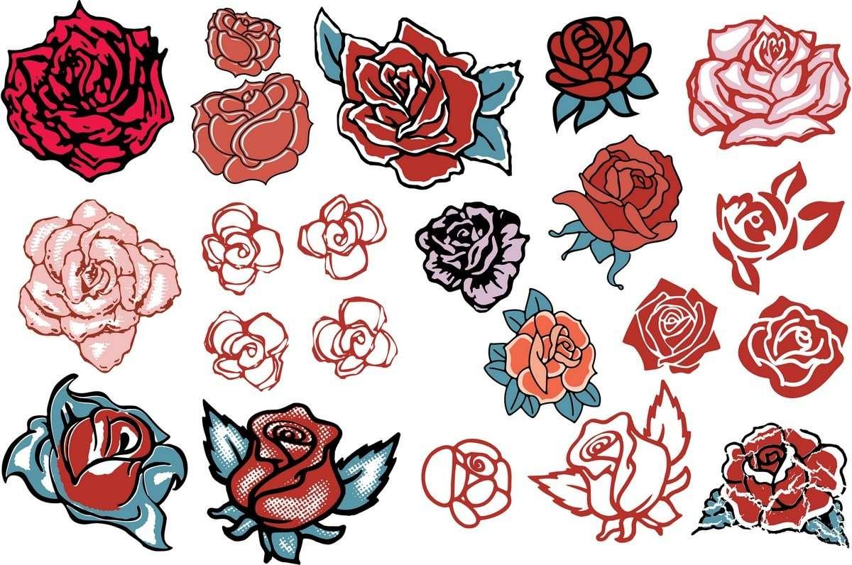 Rose 01 png