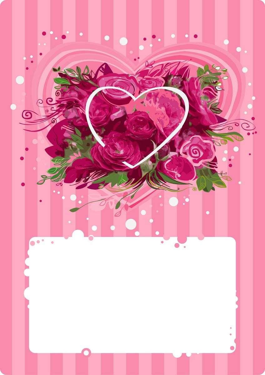 Rose Background, Flower Frame png