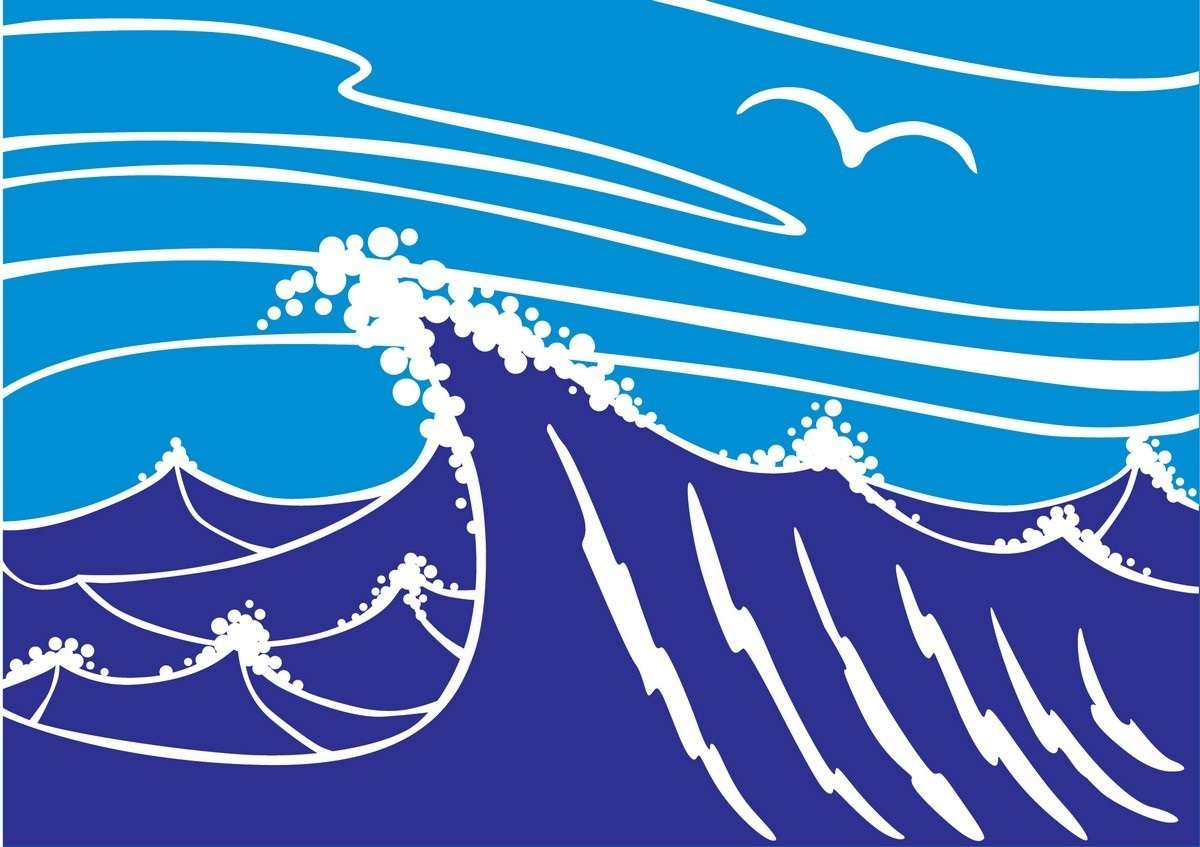 Sea Wave 01 png