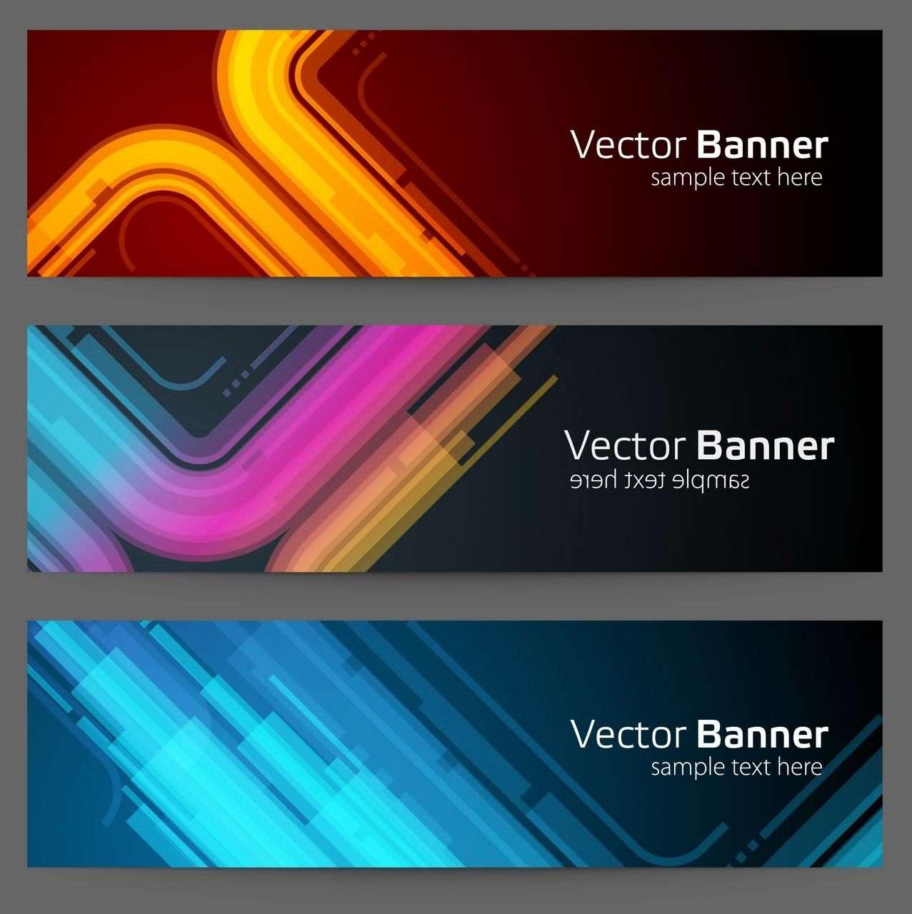 Banner 21 [Neon curve]