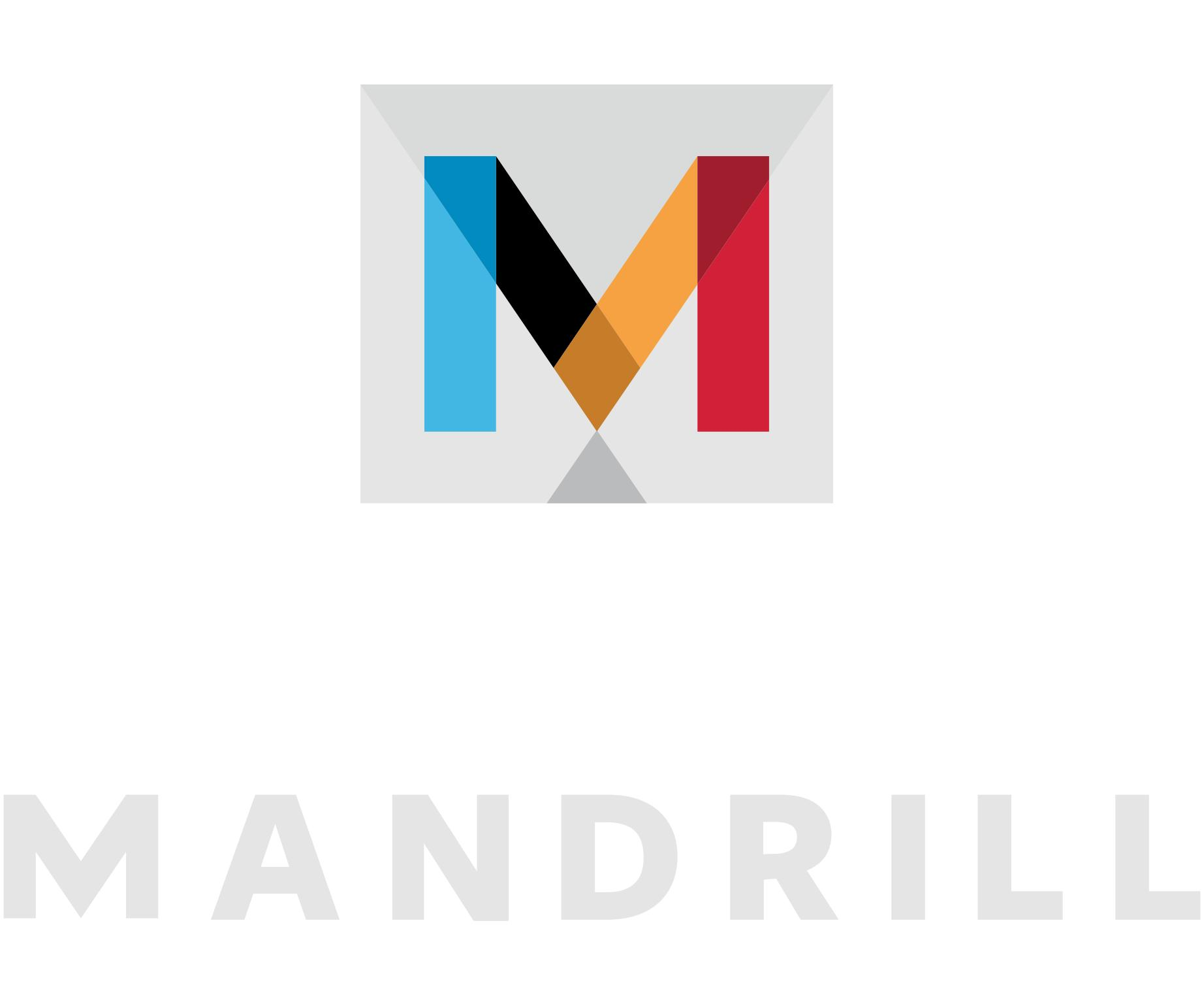 Mandrill Logo and Shield [PDF] png