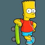 Bart Simpson 02 Skate