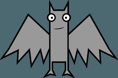 Bat 500x330 vector