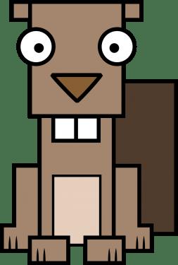 Beaver 253x375 vector