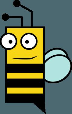 Bee 236x375 vector
