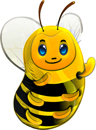 Bee Stickers Icon Set [PNG] png