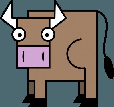 Bull 401x375 vector