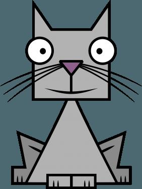 Cat 282x375 vector