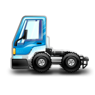 City Truck blue