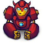Comics Hero Red 2