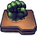Comics Hulk Fist Folder