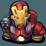 Comics Ironman Red