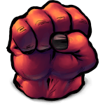 Comics Rulk Fist