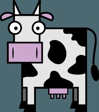 Cow 331x375 vector