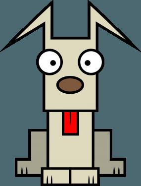 Dog 285x375 vector