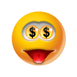 Emoticon Money