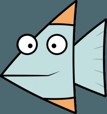 Fish 351x375 vector
