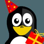 Happy Birthday Tux