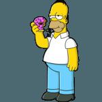 Homer Simpson 01 Donut