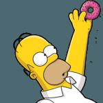 Homer Simpson 02 Donut