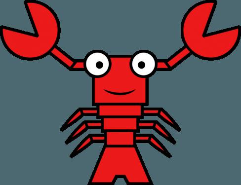 Lobster 488x375 vector