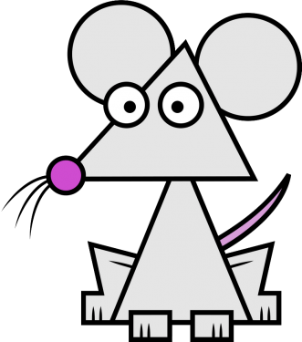 Mouse 331x375 vector