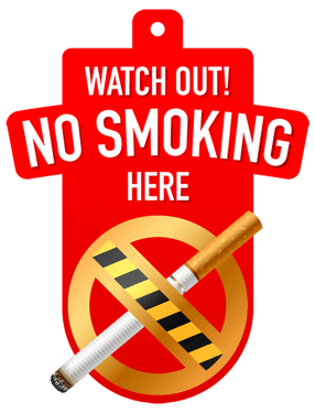 No smoking sign 286x375 vector