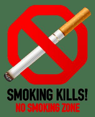 No smoking symbol 304x375 vector