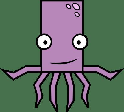 Octopus 416x375 vector