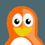 Orange Tux