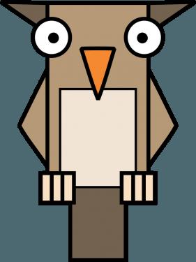 Owl 281x375 vector
