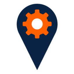 Places Optimization Icon vector