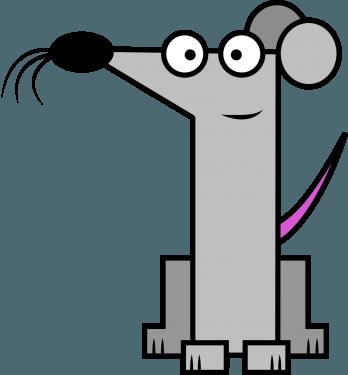 Rat 348x375 vector
