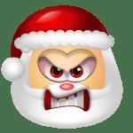 Santa Claus Angry