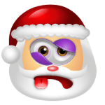 Santa Claus Beaten