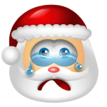 Santa Claus Cry
