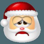 Santa Claus Sad