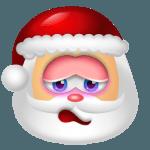 Santa Claus Shy