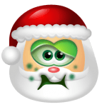 Santa Claus Sick