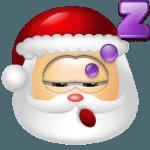 Santa Claus Sleep