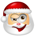 Santa Claus Wink