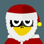 Santa Tux