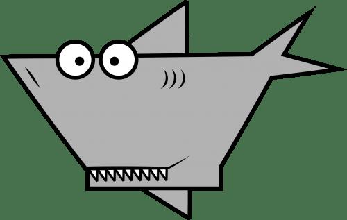Shark 500x317 vector